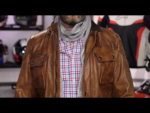 9ed3d7abcaf Belstaff Classic Tourist Trophy Jacket Review at RevZilla.com - YouTube