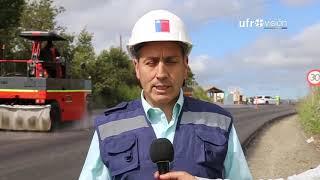 Video 30% de avance presentan trabajos de pavimentación de ruta Tranapuente en Carahue | UFROVISIÓN download MP3, 3GP, MP4, WEBM, AVI, FLV Oktober 2018