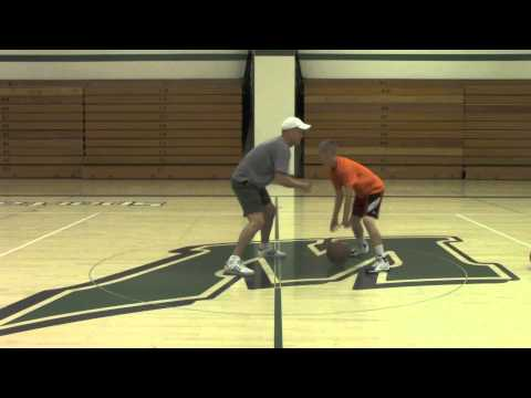 Contact Dribbling. One and Two Basketball