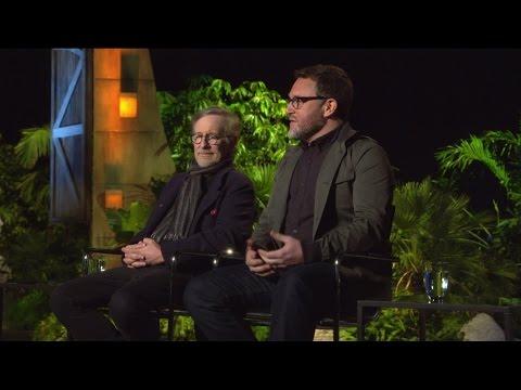 Jurassic World Official Movie Interview - Steven Spielberg & Colin Trevorrow