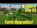 Farming Simulator 19: New Farm Upgrades - Chore Log 5!