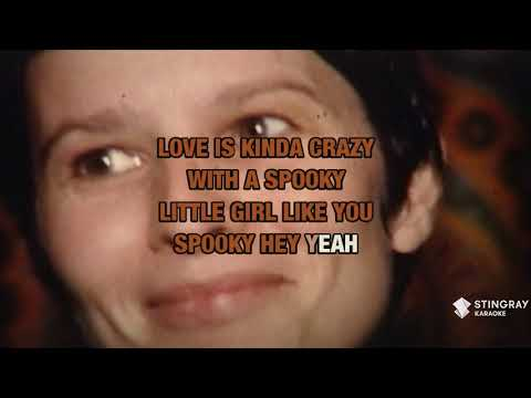 Spooky in the style of Classics IV | Karaoke with Lyrics
