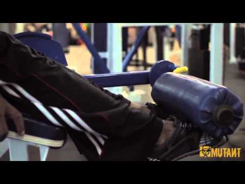 MUTANT in a MINUTE - Tibia exercise with IFBB Pro Renaldo Gairy