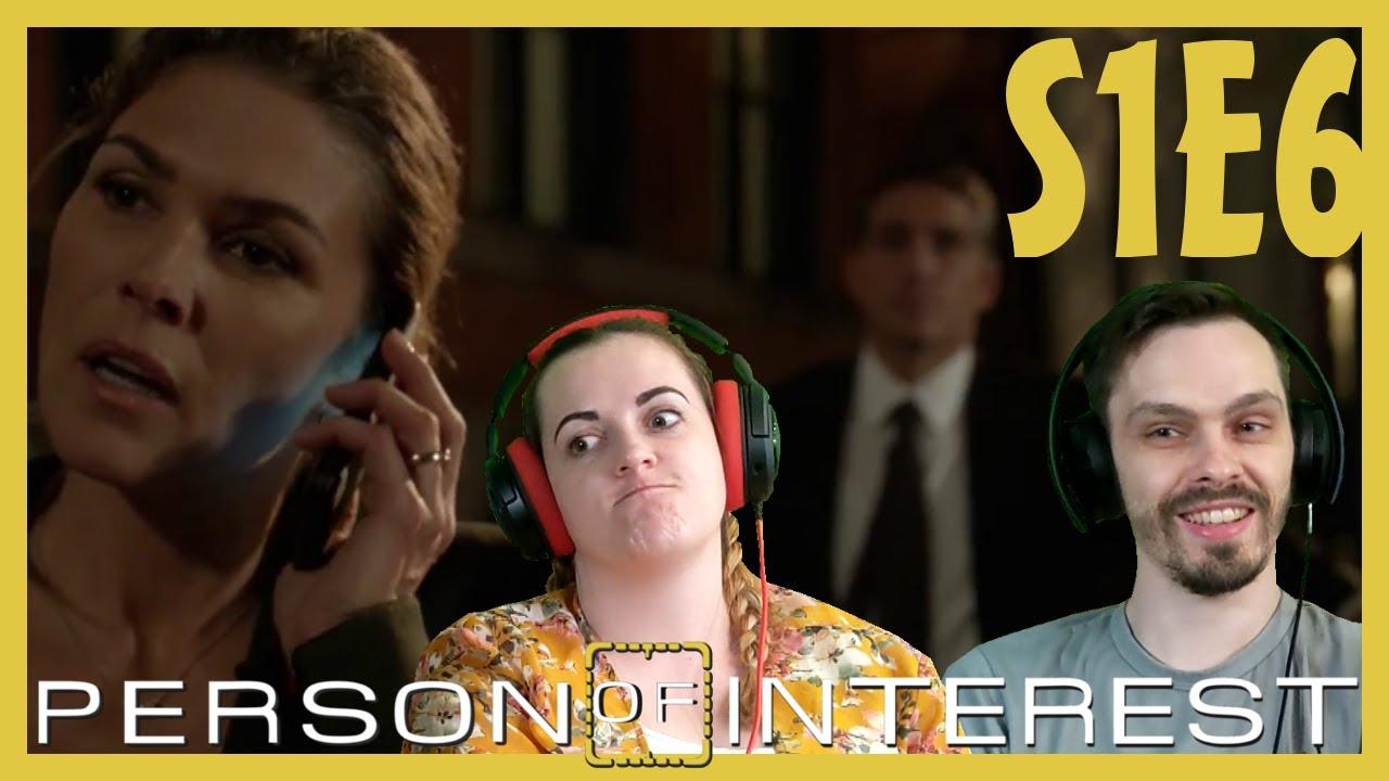 Download Person of Interest REACTION // Season 1 Episode 6 // The Fix