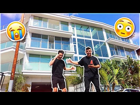 LITTLE BROTHER SURPRISES ME AT CLOUT HOUSE *emotional*