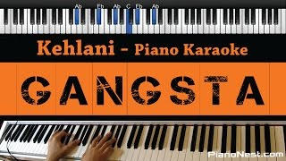 Kehlani - Gangsta - Piano Karaoke / Sing Along / Cover with Lyrics From Suicide Squad