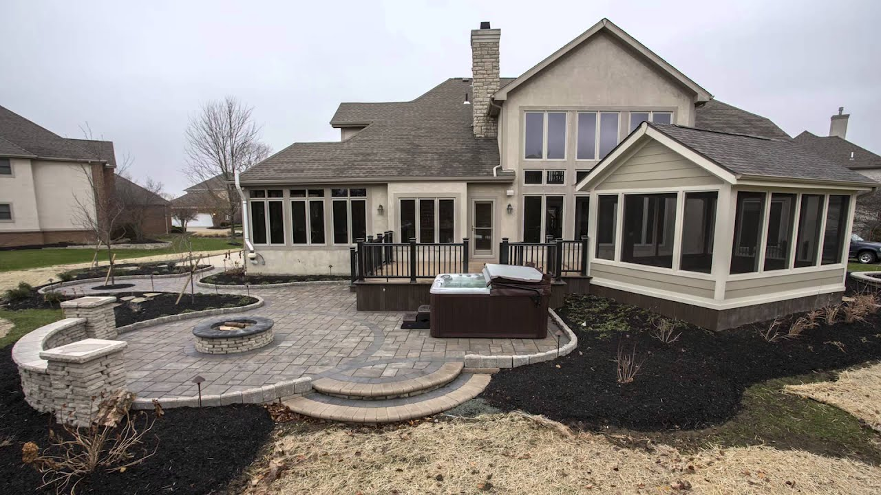 Outdoor FX Westerville Ohio Porch deck patio and firepit