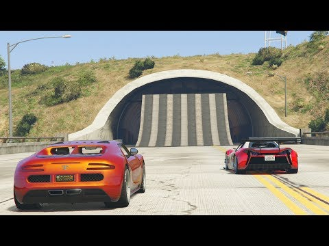 LA GRAN FUGA - CARRERA GTA V ONLINE - GTA 5 ONLINE