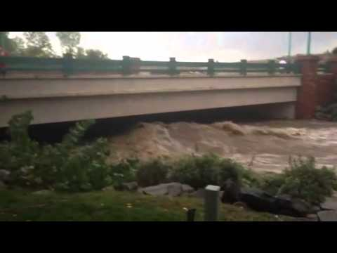 Flooding in Superior, CO
