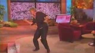Ellen - Dancing to Toy Soldier (Britney Spears)