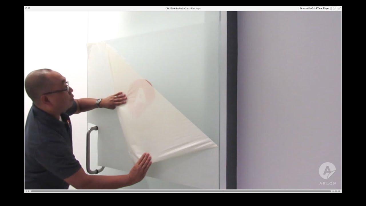 DPF 5200 - Premium Cut & Print Etched Window Film