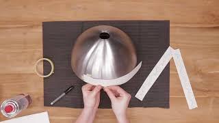Подвесная лампа из салатницы! Вдохновитесь с Dremel