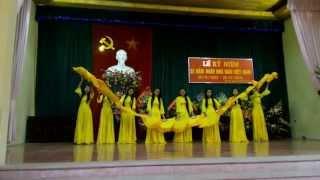 Múa: Người thầy năm xưa - Giải nhất thi văn nghệ chào mừng 20-11 -9A THCS Ninh Sở
