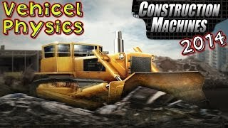 Construction Machines 2014   Vehicle Physics Gameplay HD