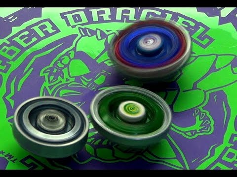 Beyblade Cyber Draciel Battle Series 4 Cosmic Pegasis vs Fang Leone vs Twisted Tempo