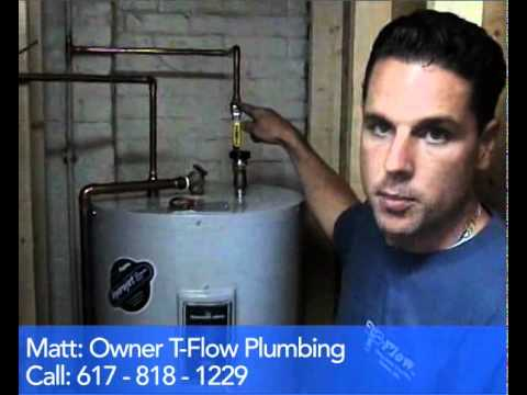 Plumber_Boston Water Heater Shut - Off