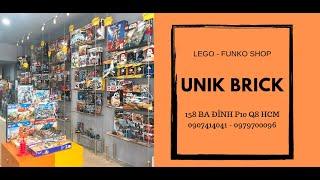 UNIK BRICK - Shop đồ chơi Lego Funko Pop giá rẻ chính hãng hàng sẵn tại HCM