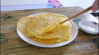 早餐饼这样烙,又软又多层,农村妈妈拿手和面技巧让你爱上吃早餐||胖嫂show