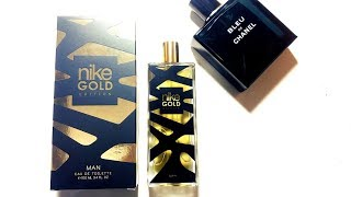 Nike Man Gold Edition Fragrance Review 2017