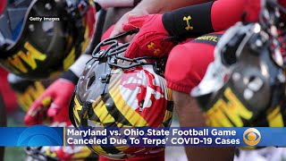 Maryland-Ohio State Football Game Canceled Due To 'Elevated Number' Of COVID-19 Cases In Terps' Prog