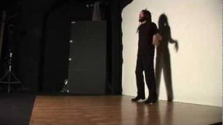 Behind the scenes at the Savion Glover photo shoot for Inside Jersey magazine