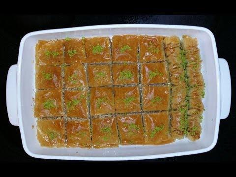 کیک شربتی خانم گل آور باقلوا Baklava   Doovi