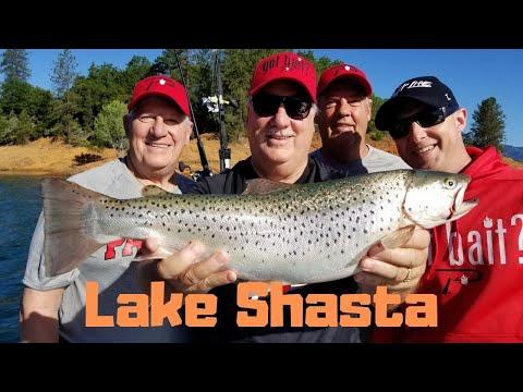 Lake Shasta Trout Fishing