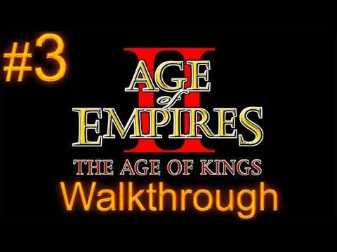 Age of Empires 2 Walkthrough - Part 3 - Joan of Arc Campaign - The Maid of Orleans [2/2]