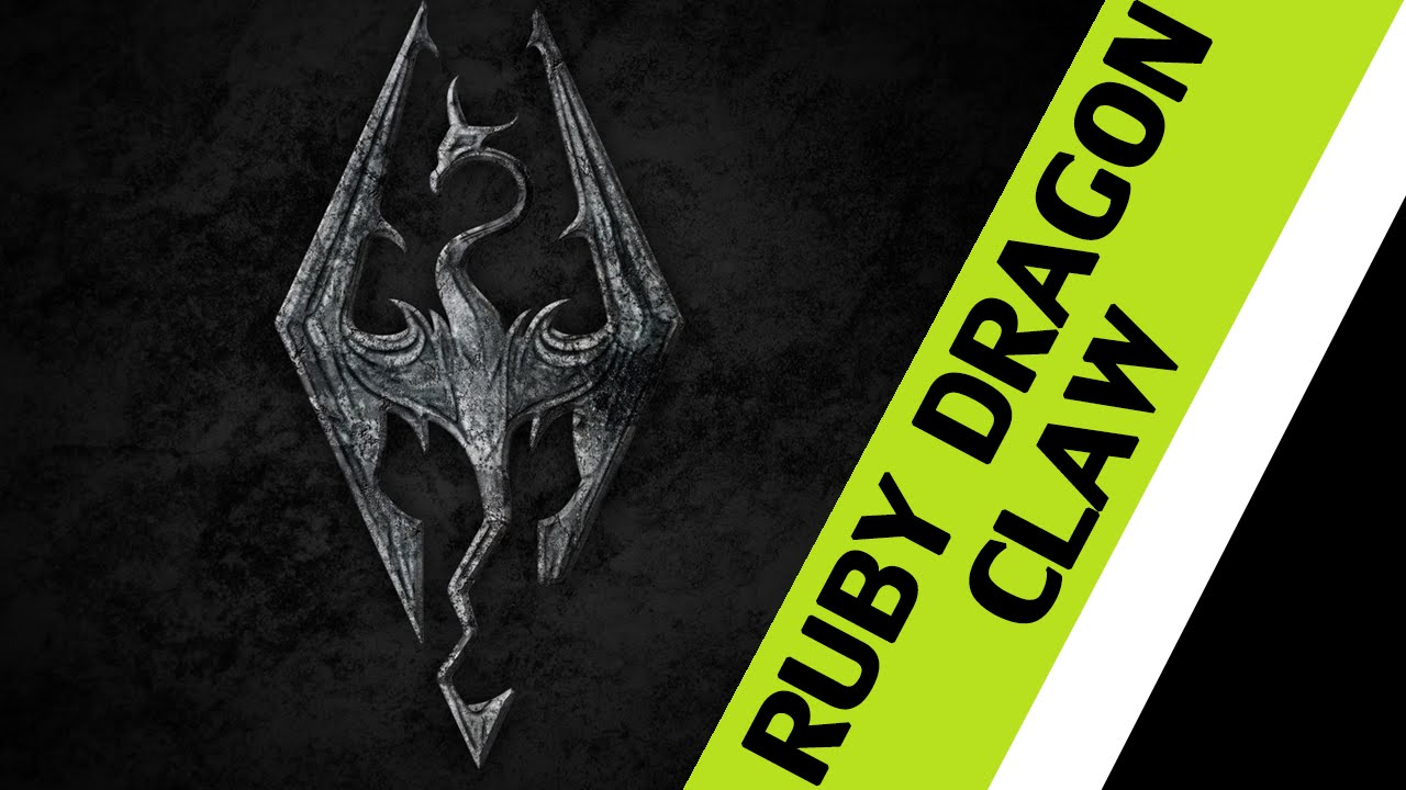 The Elder Scrolls V Skyrim Ruby Dragon Claw Key Door