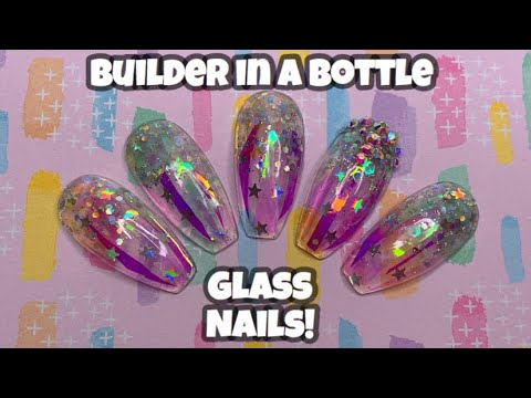 Builder In A Bottle Glass Nails | Madam Glam | Beauty BigBang | Nail Sugar