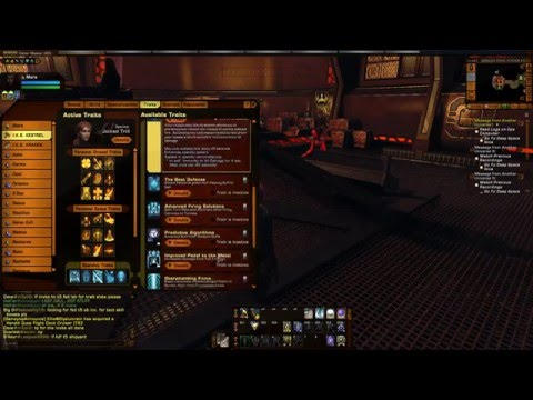 Star Trek Online - Fleet Mat'Ha Raptor T6 Build