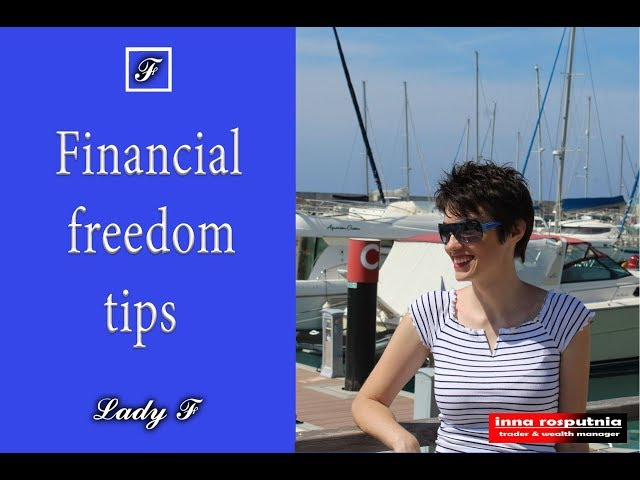 Financial freedom tips. Build your fortune