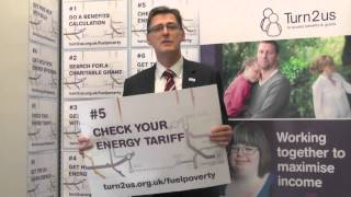 Mike Crockart, MP supports Turn2us Fuel Poverty campaign