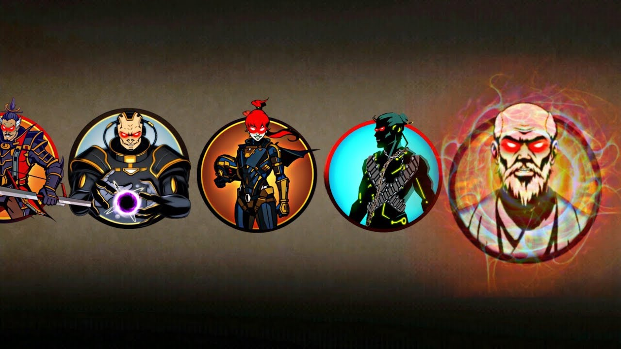 Shadow Fight 2 Vs Legendary Sensei And Bodyguards
