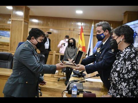 Xinzo recoñece coa súa Medalla ao capitán José Luis Casas