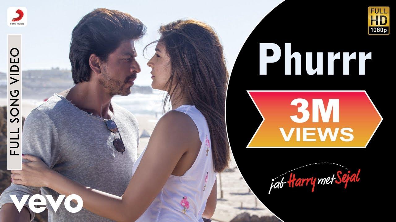Download Phurrr Full Video - Jab Harry Met Sejal|Shah Rukh Khan, Anushka|Diplo & Pritam