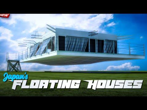 Japan Floating House Technology | Japans Earthquake Proof Buildings | Hindi 2021