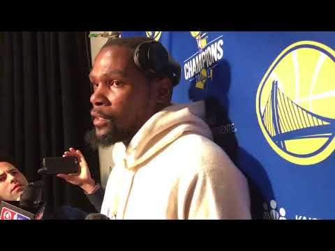 Kevin Durant is confident the Warriors will be ready for the playoffs