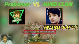 HIND CLAN VS PROGAMER I LATEST FIGHT I PUBG MOBILE HIGHLIGHTS l YouTuber Fight