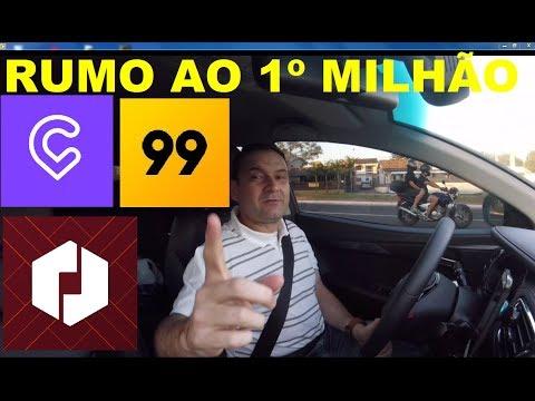 GANHANDO O 1º MILHÃO NO UBER
