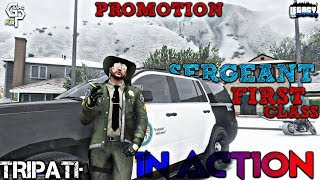 Officer Tripathi got Promotion •GTA V Live • !fb !insta !discord • GTA 5 RP In Indian Legacy Servers