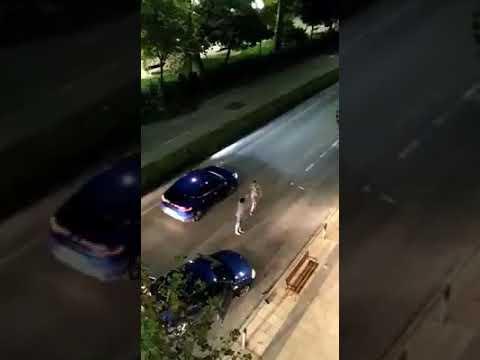 Multitudinaria pelea en Santander la pasada noche
