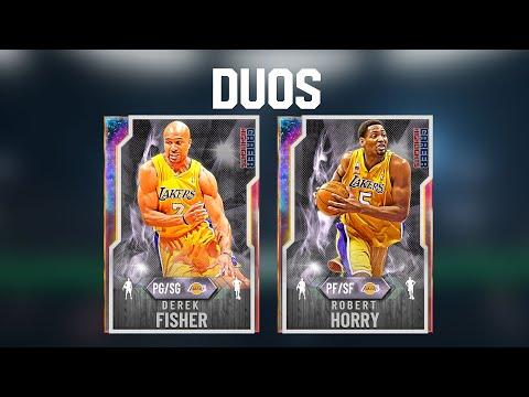 FREE GALAXY OPAL DEREK FISHER + ROBERT HORRY Duo In NBA 2K20 MYTEAM! NEW LOCKERCODES!