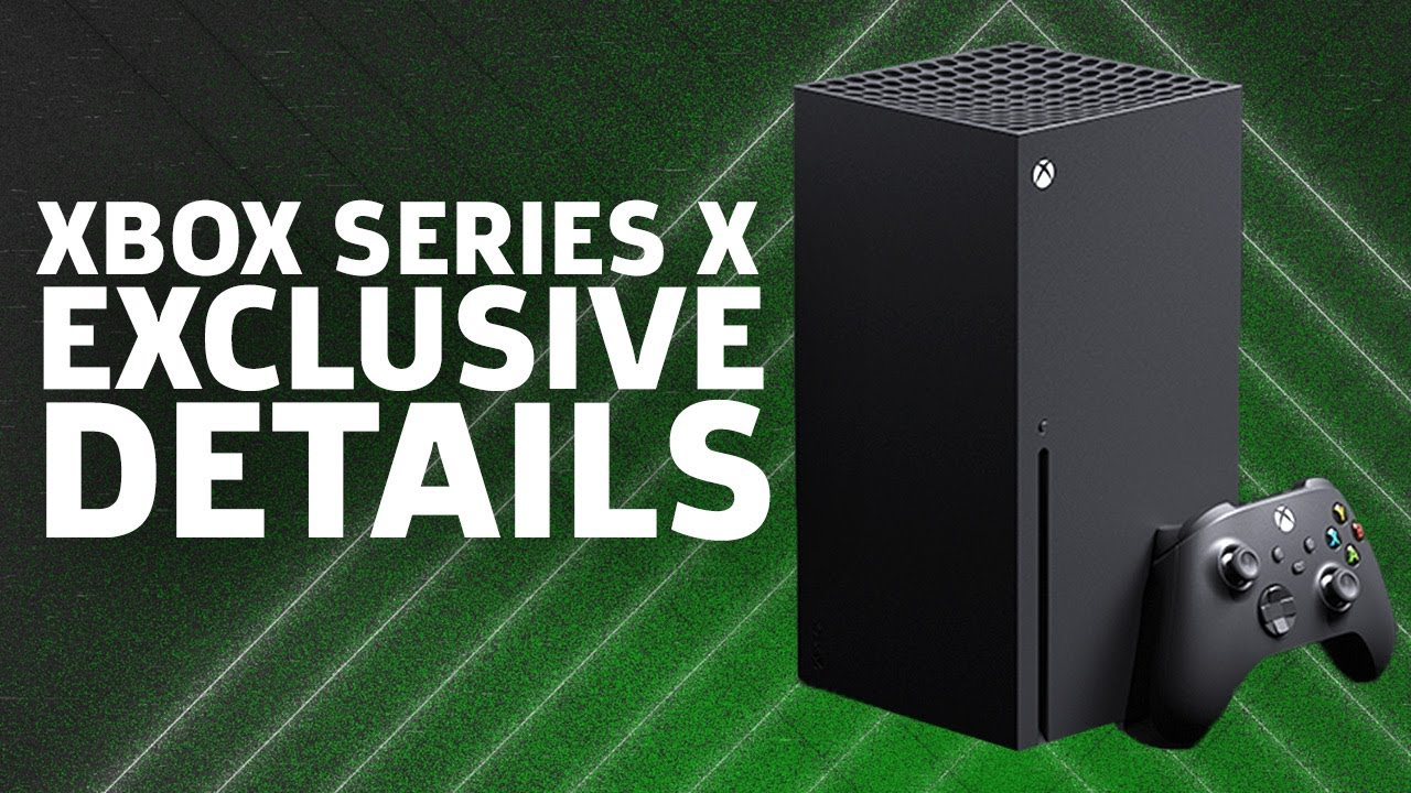 Everything You Need To Know About Microsoft's Xbox Series X ...