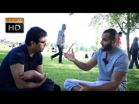 P1 - Thoughts in my head! Muhammad Hijab & Atheist | Speakers Corner | Hyde Park