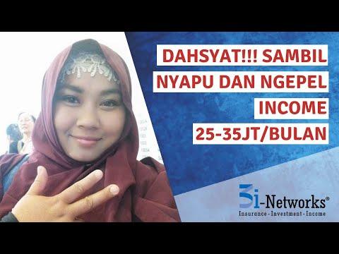 Dahsyat! Sambil Nyapu Dan Ngepel Income 3i-Networks TKI Ini 25-35jt/Bulan