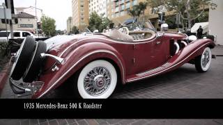 Mercedes-Benz Auction At The 2011 Pebble Beach Concours D'Elegance