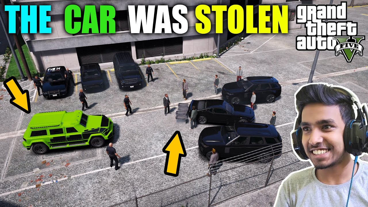 GTA 5 : LOS SANTOS POLICE DEAL TECHNO GAMERZ CAR WITH CHINESE GANG MEMBER