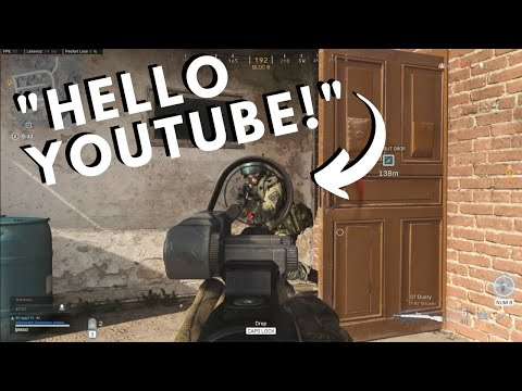 WARZONE Compilation #10: HELLO YOUTUBE! from YouTube · Duration:  4 minutes 7 seconds