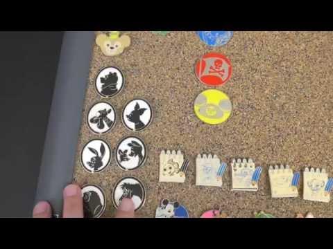Pin Trading at Disney World!